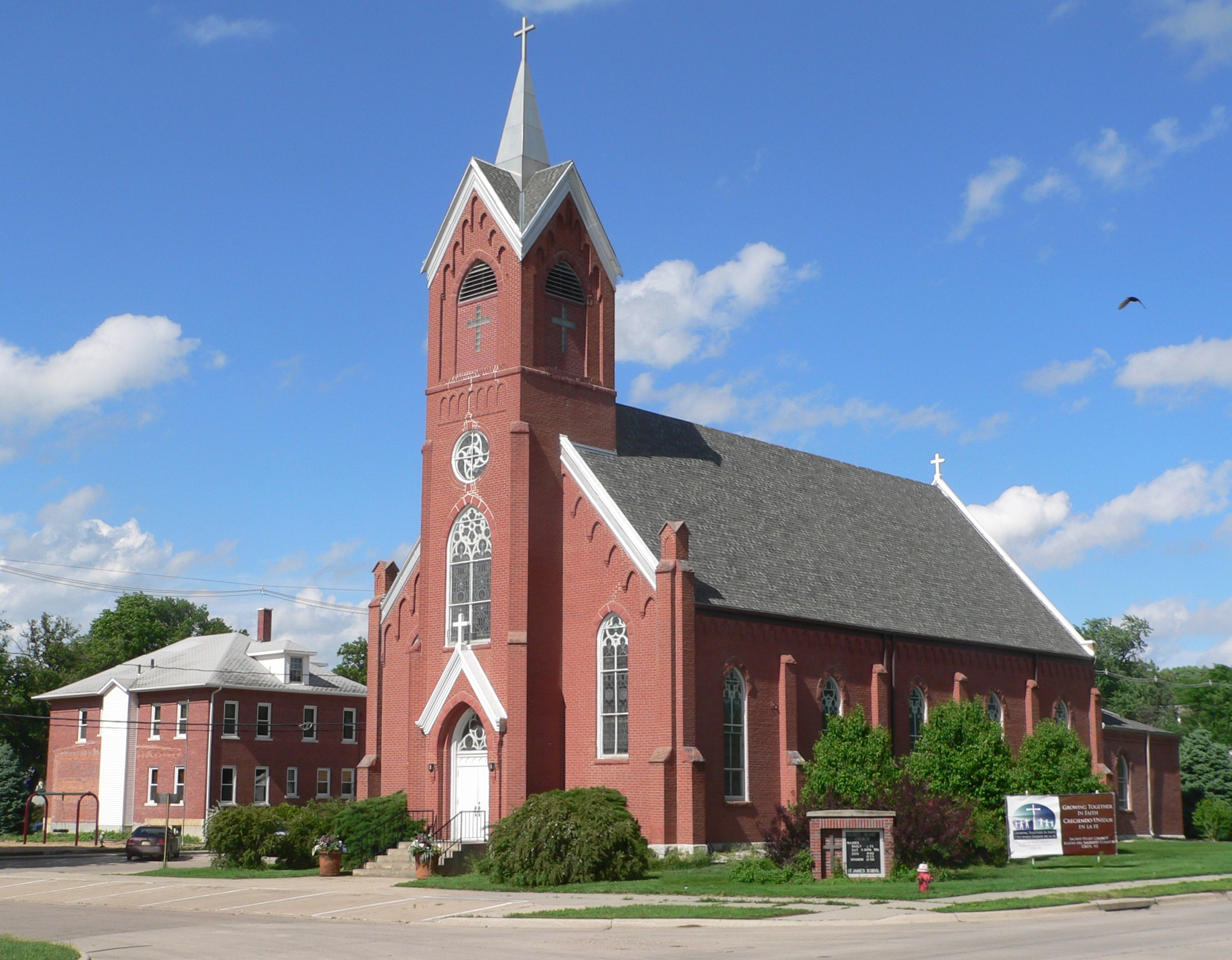 Sacred Heart Church Crete Nebraska